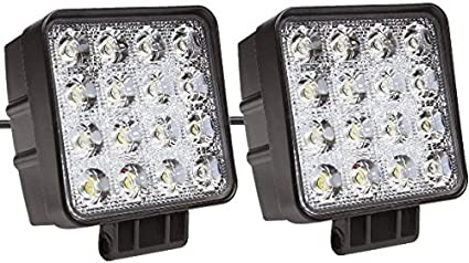 48W LED Work Light FLOOD Lamp for Marine Boat Tractor Truck Offroad SUV RV ATV