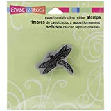 Stampendous Cling Rubber Stamp, Dragonfly Image