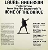 Laurie Anderson /The Interview From The Film Soundtrack To Home Of The Brave / LP