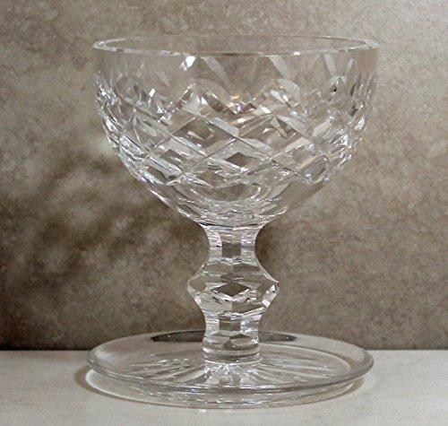 Waterford Crystal Stemware, Powerscourt Footed Dessert - Markings Crystal Bowls