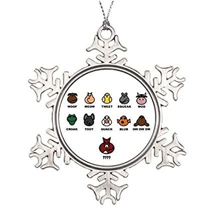 Special Christmas Ornaments.Amazon Com Valerie Best Friend Snowflake Ornaments W Does