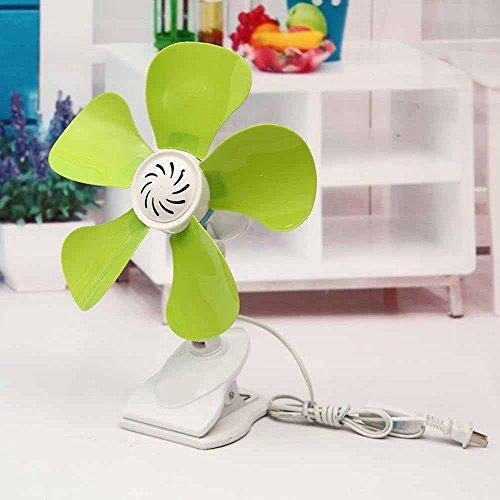 Kaxima Energy-saving electric fan five-leaf mini mute wind fan miniature stand fan by Kaxima