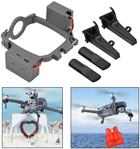Drone Air‑Dropping Aerial Thrower Payload Delivery Thrower Air Dropper Device Mount Advertising Delivery Wedding Rings Two Gear Fit for D JI M avic AIR2