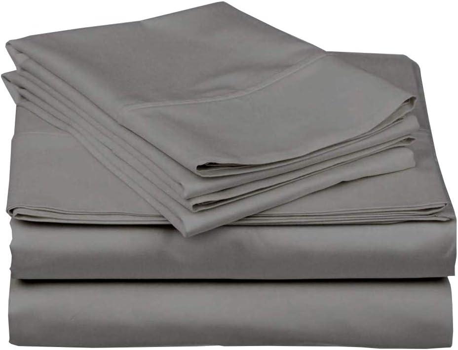 """Camper Sheets Custom Rv Sheets Best Rv Sheets Camper Sheeting Bed Sets for Bunk Beds Camper Bedding Rv Bedding Sheets Bunk Bed Odd Size Sheets 6-12"""" Deep -RV Full: 53"""" x 75"""" -Dark Grey Solid"""