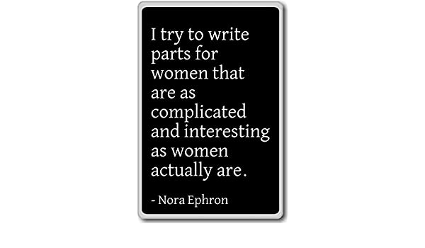 I Try to write partes para mujeres que son como Comp... - Nora ...