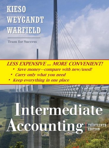 Intermediate Accounting, Binder Ready Version