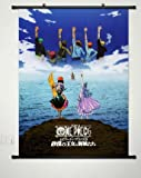 chopper wall scroll - Wall Scroll Poster Fabric Painting For Anime One Piece Key Roles 001 L