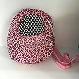 Angeka-Small-Pet-Carrier-Bag-Animal-Outgoing-Bag-with-Shoulder-Strap-Portable-Travel-Handbag-Backpack-for-Hedgehog-Hamster-Mouse-Rat-Sugar-Glider-Squirrel-Chinchilla-Rabbit