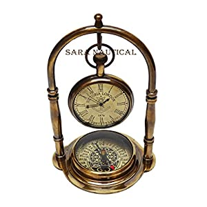 51iYFxmVBaL._SS300_ Nautical Themed Clocks