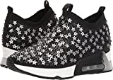Zapatillas de deporte AS-Lighting Star Ash para mujer, negro / plateado, 36 M EU (6 US)
