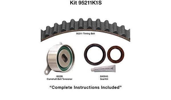 Amazon com: Dayco 95211K1S Timing Belt Kit: Automotive