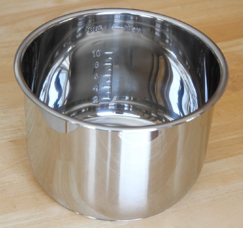 Large Product Image of Genuine Instant Pot Stainless Steel Inner Cooking Pot - 6 Quart