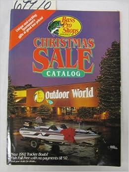Bass Pro Shop Christmas Sale Catalog: New 1992 Tracker Boats ...