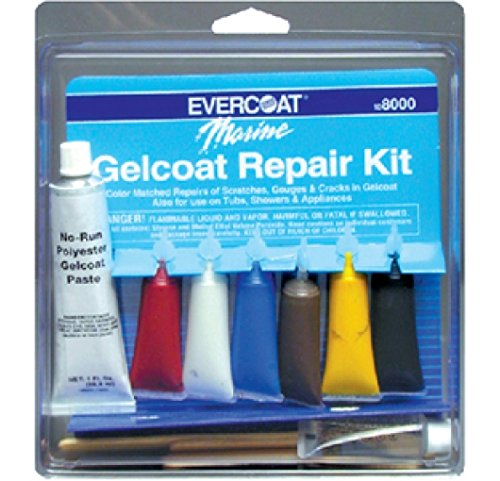FIBRE GLASS-EVERCOAT CO Gel Coat Repair Kit 1 Oz. - Fiberglass Evercoat Gel