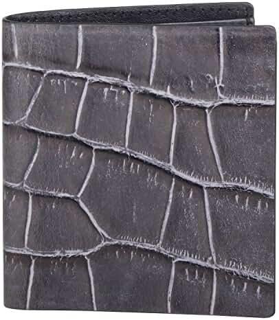 Cross Men's 100% Genuine Leather Note Case- Coco Bicolor Range - AC058110