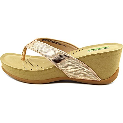 Baretraps - Sandalias de vestir para mujer oro rosa