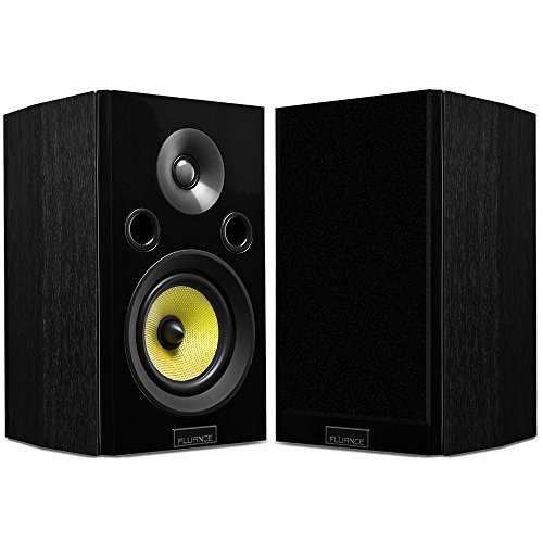 Fluance Signature Series HiFi Two-way Bookshelf Surround Sound Speakers for Home Theater and Music Systems (HFS) [並行輸入品] B078FYNWD4