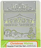 Tonic Studios 598e Header Fold Christmas Wishes Die