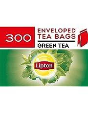 Lipton Green Tea, Enveloped Tea Bags, 300 Pieces, Green