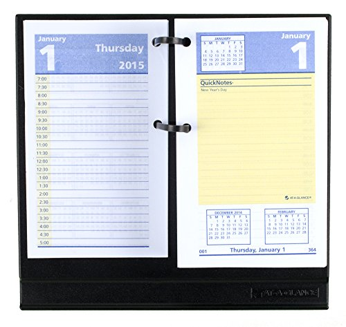 Quicknotes Undated Monthly Desk Pad Calendar 22 X 17
