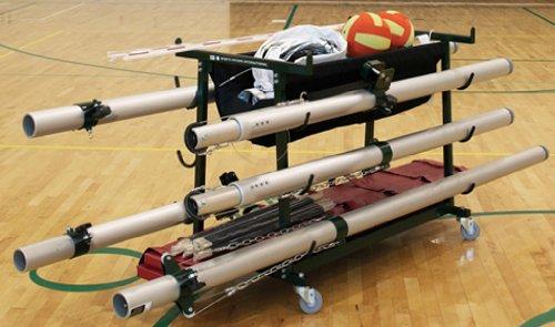 Volleyball Equipment Storage Cart