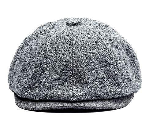 Zegoo Women's Retro Peaked Ivy Newsboy Paperboy Cabbie Painter Cap Hats S/M ()