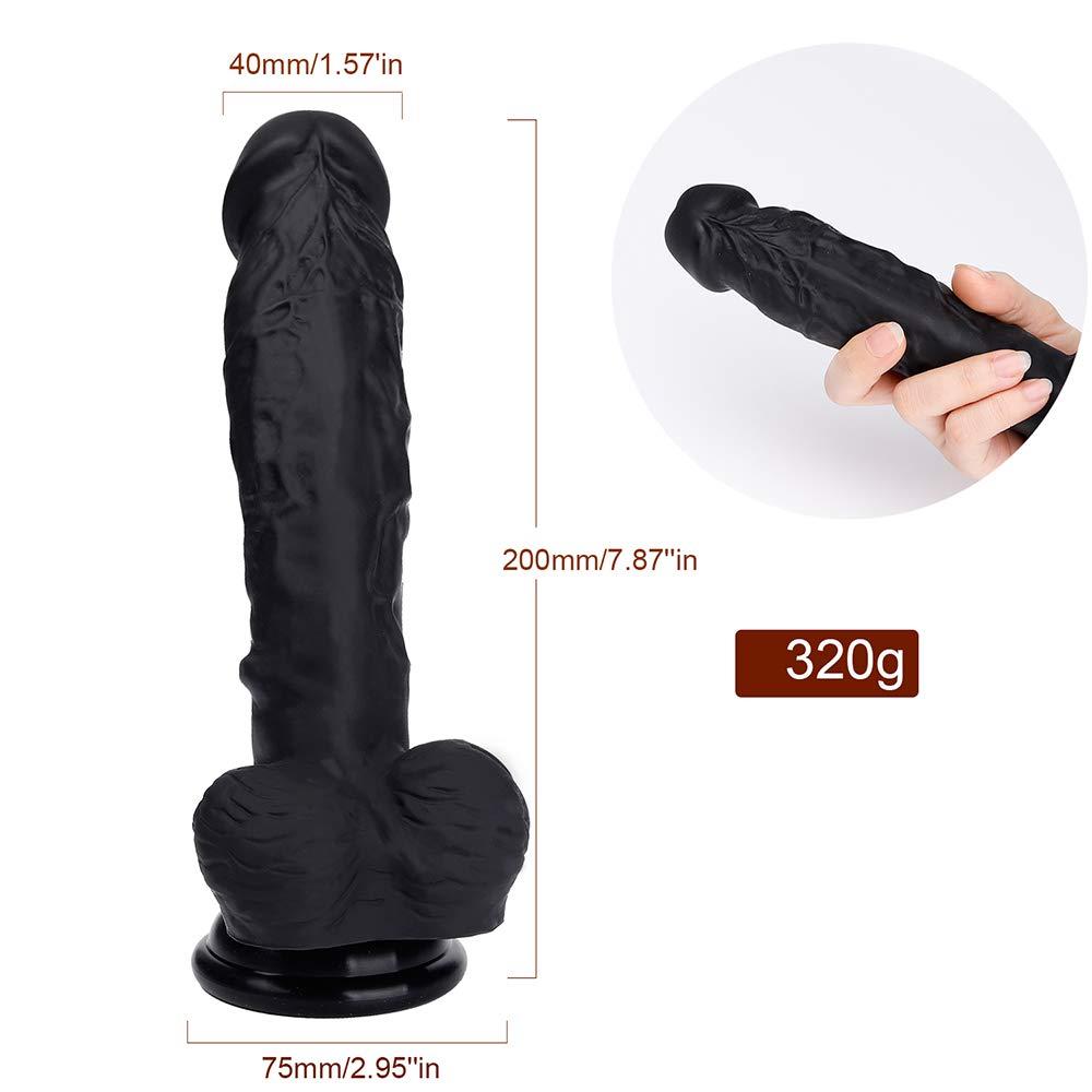 Nueva Sensación Realista De La La La Piel Del Pene Súper Enorme Consolador Y Lechón Juguetes Femeninos Masturbación Gallo 0b6cc7