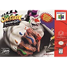 Clay Fighter Sculptor's Cut - Nintendo 64 (N64) - Reproduction Cart w/ Custom Mini Box and Manual