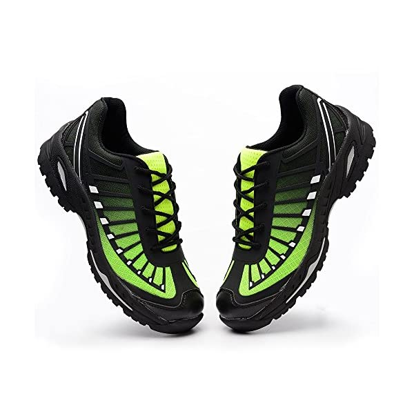 YI XIE Work Steel Toe Shoes Safety Shoes for Men and Women Lightweight Industrial & Construction Shoe