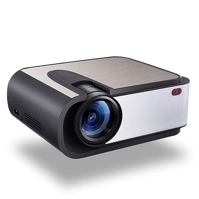 ZXGHS LCD Proyector De Cine En Casa, Lleno De HD LED Proyector ...