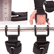 Weight Lifting Hooks Wrist Wraps Belt Power Training Pull-up Dual-use Fitness Grip Gym Grips Straps for Grip A