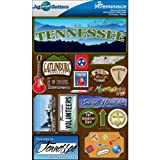 Reminisce Jet Setters 2 3-Dimensional Sticker, Tennessee