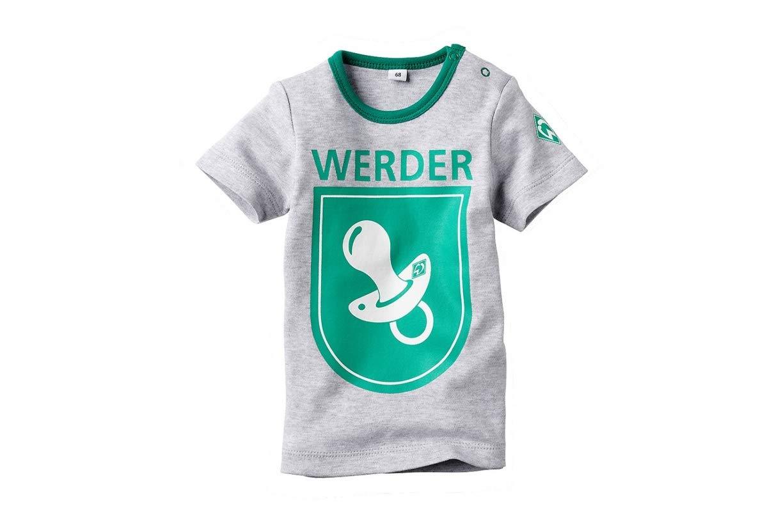Werder Bremen SV Baby T-Shirts Schnuller Gr 56-80