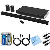 Vizio SB4051-D5 SmartCast 40  5.1 Sound Bar System w/ Essential Accessory Bundle includes Sound Bar, 2 x 6  Optical...