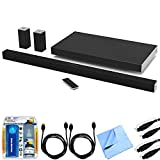 Vizio SB4051-D5 SmartCast 40'' 5.1 Sound Bar System w/ Essential Accessory Bundle includes Sound Bar, 2 x 6' Optical Toslink OD Audio Cables, 2 x 6' HDMI Cables, Cleaning Kit and Microfiber Cloth