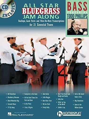 - ALL STAR BLUEGRASS JAM-ALONG FOR BASS BK/CD by Todd Phillips (2015-03-01)