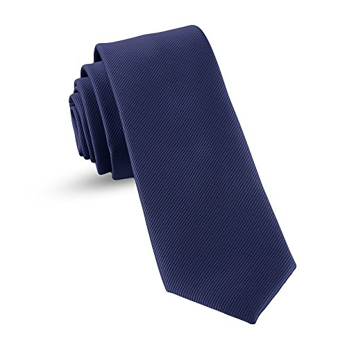 (Handmade Self Tie Ties For Boys Woven Boys Navy Blue Ties: Neckties For Kids Wedding Graduation)
