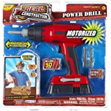 Motorized Real Construction Power Drill