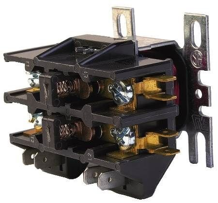 Honeywell, Inc. DP2040A5004 24 Vac 2 Pole Contactor