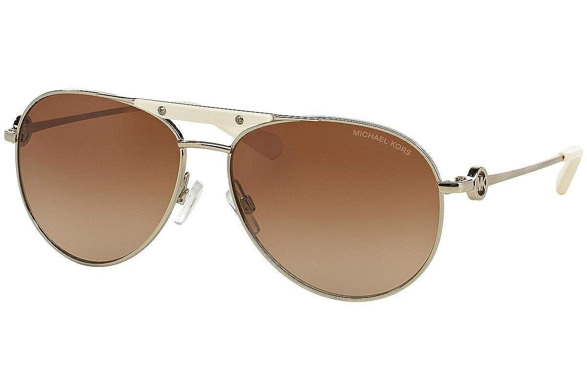 Michael Kors 0MK5001 Gafas de sol, Gold/Tone, 58 Unisex ...