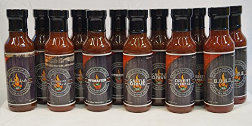 Green Mountain Grill Sauces Sample Pack