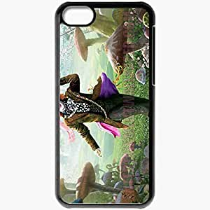 Personalized iPhone 5C Cell phone Case/Cover Skin Alice in wonderlandfunnydeppmad hatter movies Black