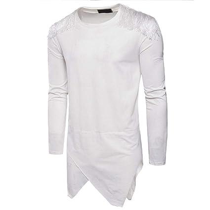 Hombre Shirt Camiseta Tops Manga Larga Otoño Moda Fashion,Sonnena Sudadera con Capucha Manga Larga