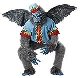 California Costumes Men's Evil Winged Monkey Adult, Grey/Blue, Large