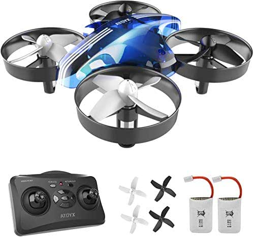 Mini Drones for Kids and Beginners,Helicopter with Remote Control,RC Pocket Quadcopter Drone with Altitude Hold Function,360°Flips and One Key Return Drone Toys for Boys and Girls(AT-66)