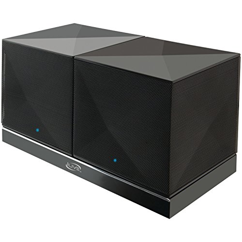 Gpx ISB614B Rechargeable Bluetooth Speakers with Charging...