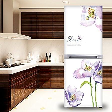 Puede quitar el frigorífico reformado película adhesiva adhesivos ...