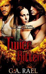 Twice Bitten: A Bi MFM Vampire Romance (The Nocturne Agency Book 2)