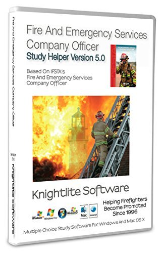 Fire And Emergency Services Company Officer Study Software Version 5.0 Win/MacOS by Knightlite Software