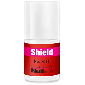 Gel de barniz – Shield – LED & UV esmalte de uñas rojo 2035